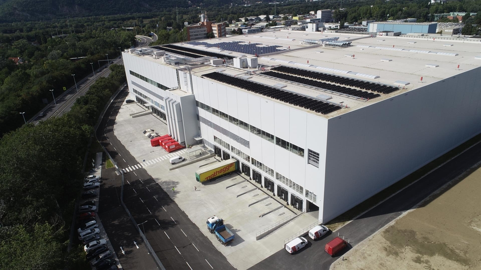 Neues IKEA Logistikzentrum